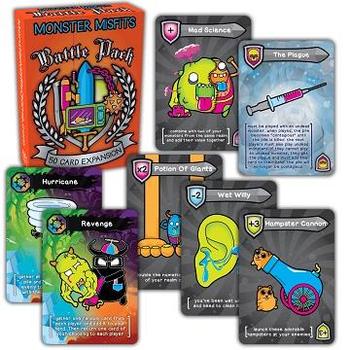 Monster Misfits Battle Pack Expansion board game