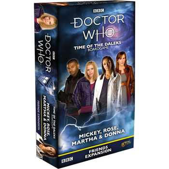 Doctor Who: Time of the Daleks - Mickey, Rose, Martha & Donna - Friends Expansion board game