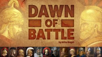 Dawn of Battle board game