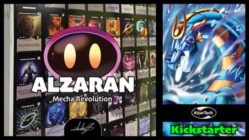 Alzaran | Mecha Revolution board game