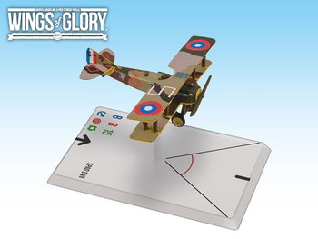 Wings of Glory WW1: SPAD S.VII board game