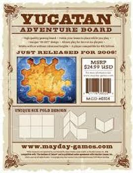 Yucatan Adventure Board board game
