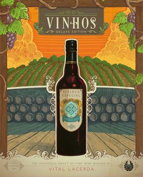 Vinhos Deluxe Edition board game