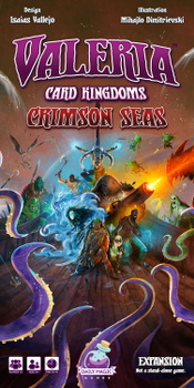 Valeria: Card Kingdoms – Crimson Seas Retail Edition board game