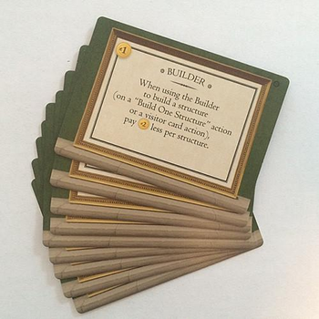 Tuscany Special Worker Promo Cards - 9 Promo Cards