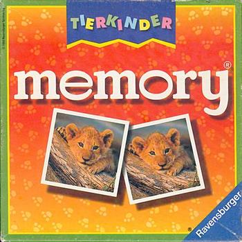 Tierkinder Memory board game