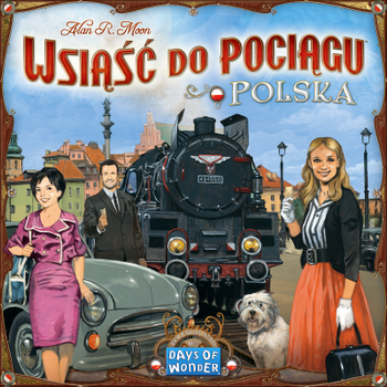 Ticket to Ride: Polska board game