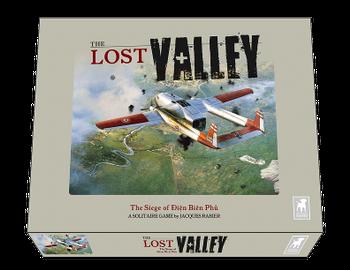 The Lost Valley: The Siege of Dien Bien Phu board game