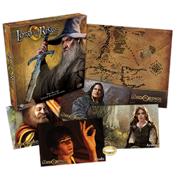 The Lord of the Rings: The Card Game - Limited Collector's Edition board game