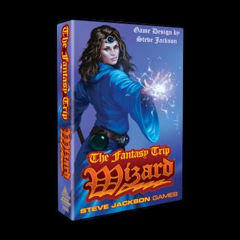 The Fantasy Trip - Wizard board game