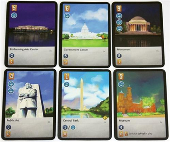 The City: Iconic City expansion board game