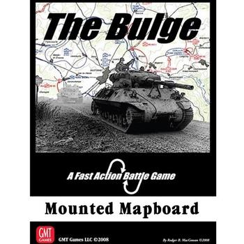 The Bulge - Mounted Mapboard board game