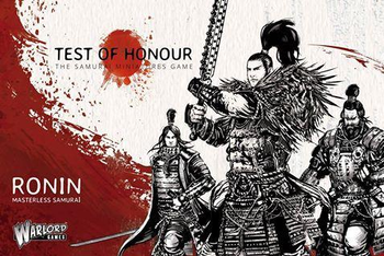 Test of Honour: The Samurai Miniatures Game - Ronin board game