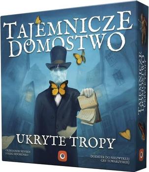 Tajemnicze Domostwo: Ukryte Tropy board game
