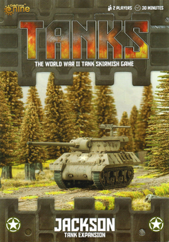 TANKS: U.S. Jackson M10/M36 board game