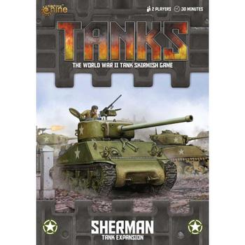 Tanks: American Sherman Tank Expansion board game