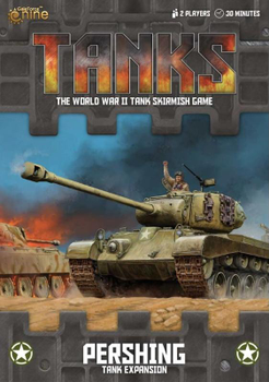 Tanks: American Pershing Tank Expansion board game