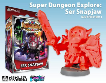 Super Dungeon Explore: Ser Snapiaw board game