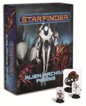 Starfinder Pawns: Alien Archive Pawn Box board game