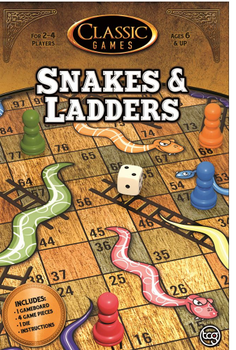Snakes & Ladders (Classic Games Edition) board game