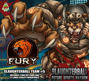 Slaughterball: Team Fury board game