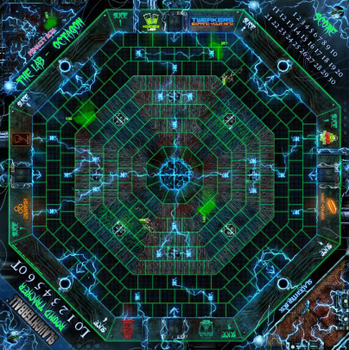 Slaughterball: Team Arena 6 - The Lab board game