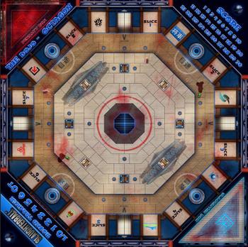 Slaughterball: Team Arena 7 - The Dojo board game