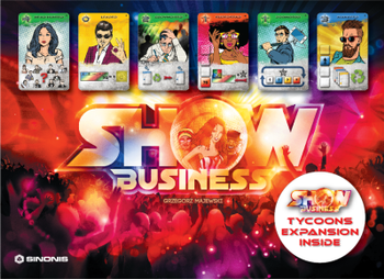 Show Business: Tycoons board game