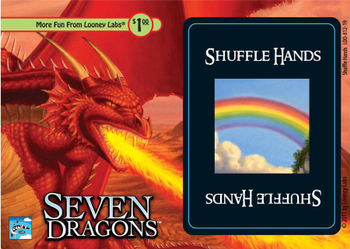 Seven Dragons: Shuffle Hands board game