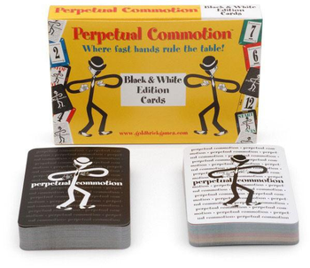Perpetual Commotion Black & White Edition Cards board game