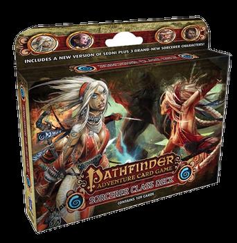 Pathfinder Adventure Card Game: Class Deck - Sorceror board game