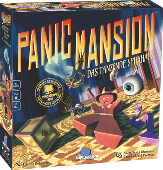 Panic Mansion board game