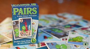 Pairs: Shallow Ones Deck board game