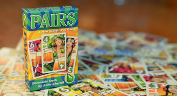 Pairs: Barmaids Deck board game