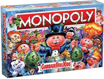 Monopoly: Garbage Pail Kids board game