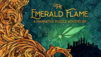 The Emerald Flame - A Narrative Puzzle Adventure board game