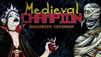 Medieval Champion - Extended Halloween Expansion board game
