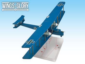 Wings of Glory WW1: Zeppelin Staaken R.VI board game