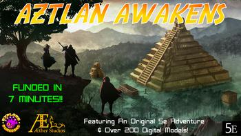 Aztlan Awakens board game