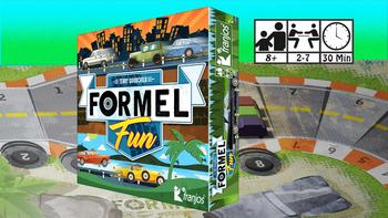 FORMEL FUN - car racing with cards board game