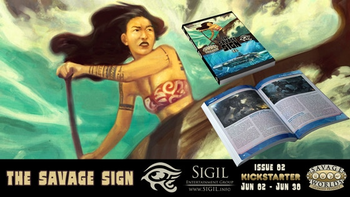 The Savage Sign 02 board game