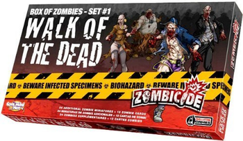 Zombicide: Box of Zombies Set #1 - Walk of the Dead board game
