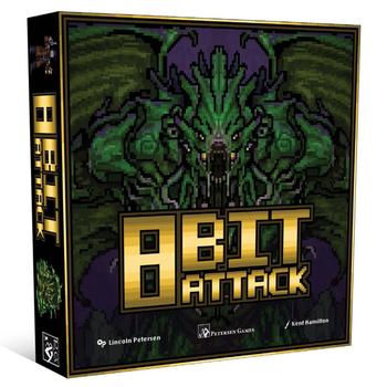 8-Bit Attack board game