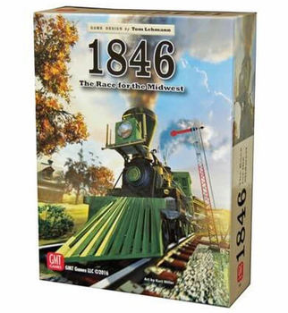 1846: The Race for the Midwest board game