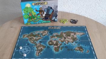 Bigfoot the Board Game board game
