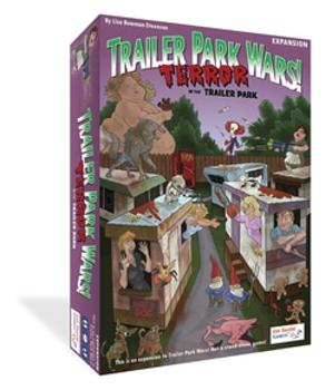 Trailer Park Wars!: Terror in the Trailer Park Expansion board game