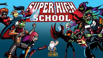 Super High School RPG board game