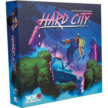 Hard City board game