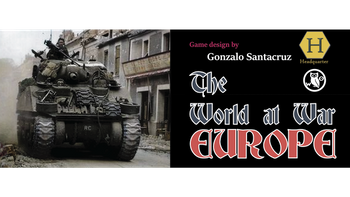 The World at War: Europe board game