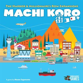 Machi Koro: 5th Anniversary Expansions - Harbor & Millionaire's Row board game